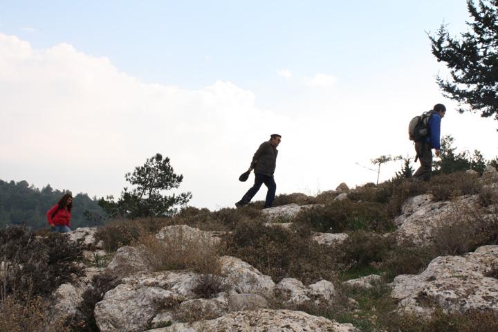 Enjoying the hike