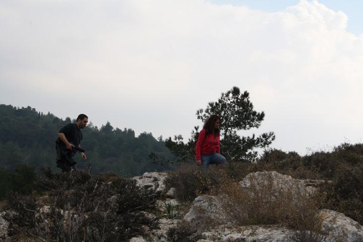 Mada Hiking the hill