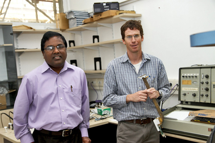 Picture of Prof. Kuppusamy from Ohio State, USA