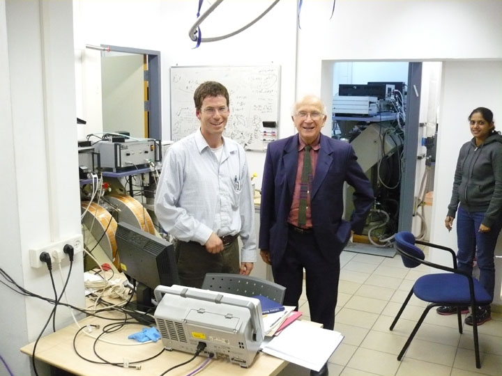 Picture of Dr. Roald Hoffmann from Cornell University, New York (Nobel Prize in Chemistry)