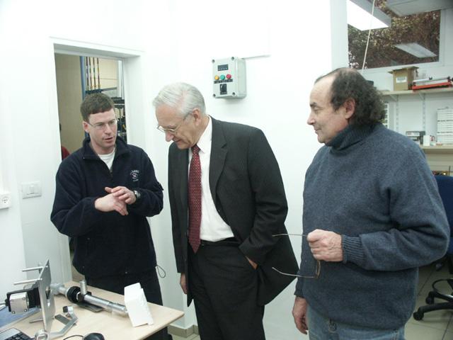 Picture of Prof. Richard R. Ernst from ETH Zurich, Switzerland (Nobel Prize in Chemistry)