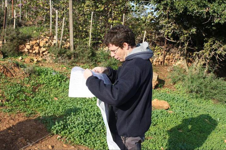 prof. Aharon Blank navigating