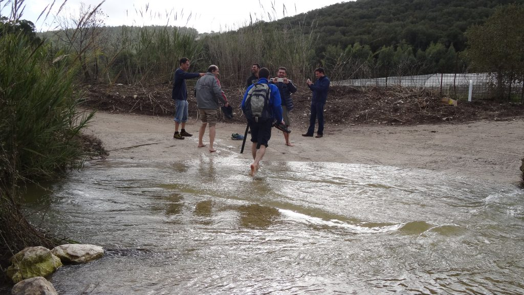 """Crossing """"Dalia river"""""""